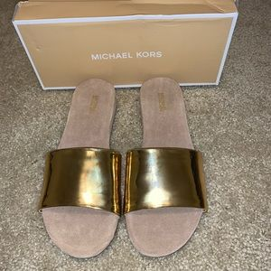 Michael Kors Duke Slide Mirror Metallic